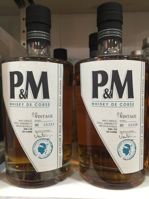P&M Vintage, whisky corse